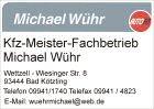 Autohaus Michael Wühr, 09941/1740